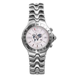 Ebel World Time Automatic Men's Stainless Steel Watch - #1378