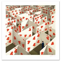 Illusive Specificity of Random Compliments Limited Edition Hand Pulled Original Lithograph by Rafal