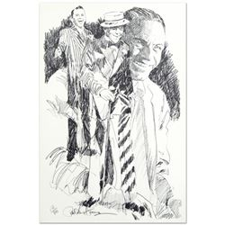 Sinatra Limited Edition Serigraph by Paul Blaine Henrie (1932-1999), Numbered and Hand Signed with C