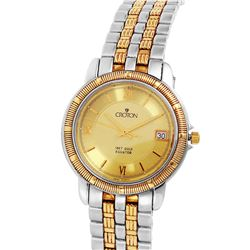 Croton Two Tone Men's Stainless Steel Watch - #1383