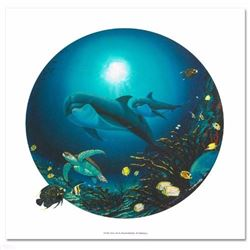 Undersea Life Limited Edition Giclee on Canvas by Renowned Artist Wyland, Numbered and Hand Signed w