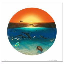 Warmth of the Sea LIMITED EDITION Giclee on Canvas by renowned artist WYLAND, Numbered and Hand Sign
