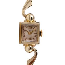 Antique Lady Elgin 14KT Yellow Gold Watch - #1685