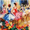 Image 2 : Ballet Studio Limited Edition Serigraph by Michael Rozenvain, Hand Signed with Certificate of Authen