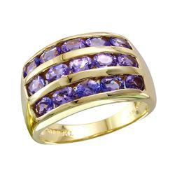 10KT Yellow Gold Tanzanite Ring - #1816
