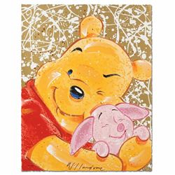 Very Important Piglet Disney Limited Edition Serigraph by David Willardson, Numbered and Hand Signed