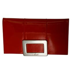 NEW Roger Vivier Purse Red Patent Leather With Bag  - #636