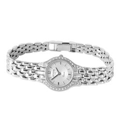 Geneve 14KT White Gold Diamond Wristwatch - #259