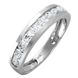 14KT White Gold Diamond Ring - #1594