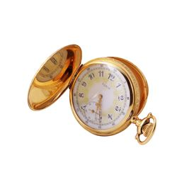 Elgin Hunter 14KT Yellow Gold Pocket Watch - #831