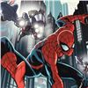 "Image 2 : ""Timestorm 2009/2099: Spider-Man One-Shot #1"" LIMITED EDITION Giclee on Canvas by Paul Renaud and Ma"