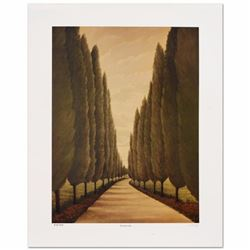 "Steven Lavaggi - ""Tuscany Lane"" Limited Edition Lithograph, Hand Signed and Numbered by the Artist!"