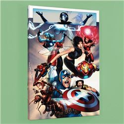 """Ultimate Fantastic Four #26"" Limited Edition Giclee on Canvas by Greg Land and Marvel Comics, Numbe"