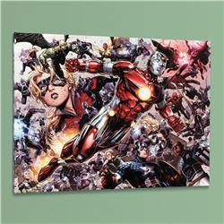 """Avengers: The Children's Crusade #5"" LIMITED EDITION Giclee on Canvas by Jim Cheung and Marvel Comi"