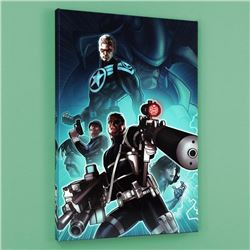 """Secret Warriors #8"" LIMITED EDITION Giclee on Canvas by Paul Renaud and Marvel Comics, Numbered wit"