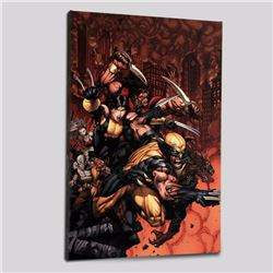 """X-Factor #26"" Limited Edition Giclee on Canvas by David Finch and Marvel Comics! Numbered with Cert"