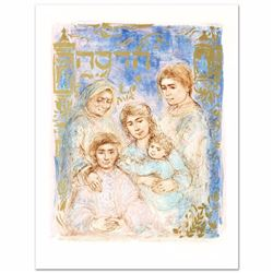 """Hadassah - The Generation"" Limited Edition Lithograph by Edna Hibel (1917-2014), Numbered and Hand"