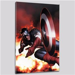 """""""Captain America #2"""" Limited Edition Giclee on Canvas by Steve McNiven and Marvel Comics, Numbered w"""