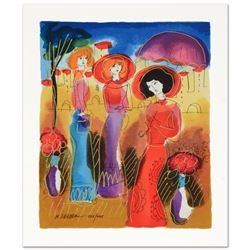 """""""Summer Day"""" Limited Edition Serigraph by Moshe Leider, Numbered and Hand Signed with Certificate of"""