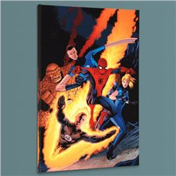 """""""The Amazing Spider-Man #590"""" Limited Edition Giclee on Canvas by Barry Kitson and Marvel Comics, Nu"""