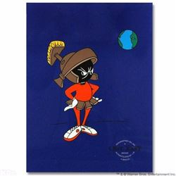 """""""Marvin Martian"""" by Chuck Jones (1912-2002)! Sold Out Limited Edition Sericel, Includes Certificate"""