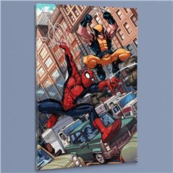 """""""Astonishing Spider-Man & Wolverine #1"""" Limited Edition Giclee on Canvas by Nicholas Bradshaw and Ma"""