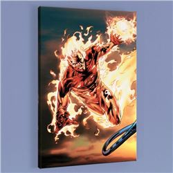 """""""Ultimate Fantastic Four #54"""" LIMITED EDITION Giclee on Canvas by Billy Tan and Marvel Comics, Numbe"""