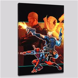 """""""Cable & Deadpool #21"""" Limited Edition Giclee on Canvas by Patrick Zircher and Marvel Comics, Number"""