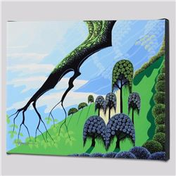 """Summer"" Limited Edition Giclee on Canvas by Larissa Holt, Protege of Acclaimed Artist Eyvind Earle,"