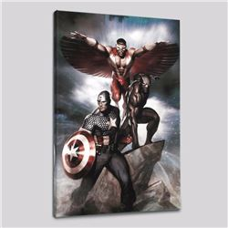 """Captain America: Hail Hydra #3"" Limited Edition Giclee on Canvas by Adi Granov and Marvel Comics, N"