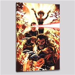 """Ultimatum: X-Men Requiem #1"" Limited Edition Giclee on Canvas by Mark Brooks and Marvel Comics, Num"