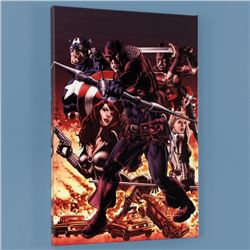 """Hawkeye: Blind Spot #1"" Limited Edition Giclee on Canvas by Mike Perkins and Marvel Comics, Numbere"