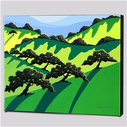 """A Gathering of Trees"" Limited Edition Giclee on Canvas by Larissa Holt, Protege of Acclaimed Artist"