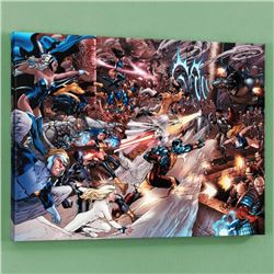 """X-Men vs. Agents of Atlas #2"" Limited Edition Giclee on Canvas by Carlo Pagulayan and Marvel Comics"