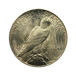 1926 $1 Peace Silver Dollar - PCGS AU58