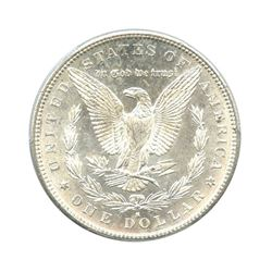 1889-S $1 Morgan Silver Dollar - PCGS MS65
