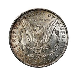 1890 $1 Morgan Silver Dollar - NGC MS63