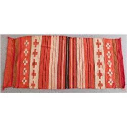 Navajo Childs Revival Wearing Blanket