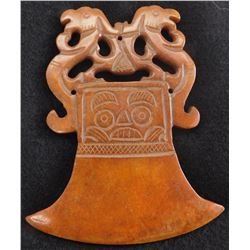 Chinese Jade Carving of Axe