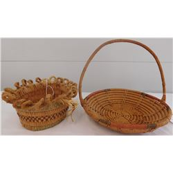 2 Native American Baskets