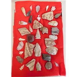 Hohokam Pottery & Flint Collection