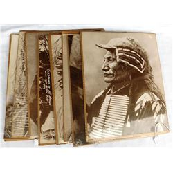 8 Unframed Photos of Native Americans