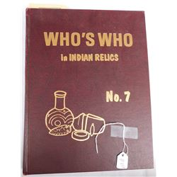 Who's Who In Indian Relics #7 Book