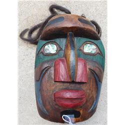 Northwest Coast Signed Mask