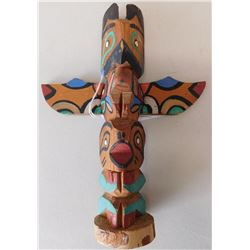 Old Northwest Coast Totem Pole