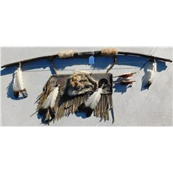 Plains Indian Bow, Arrows and Quiver