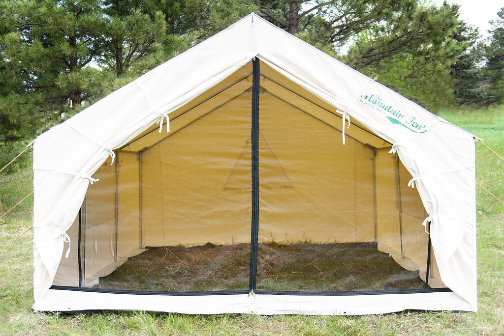 Online Hunting Auctions & Mountain Wall Tent from Denver Tent u0026 a Spruce Stove Package from ...