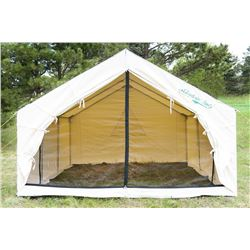 Mountain Wall Tent from Denver Tent & a SpruceStove Package from Colorado Cylinder Stove