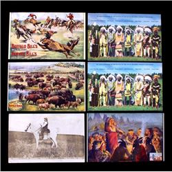 Antique Western Postcard Collection: Buffalo Bill