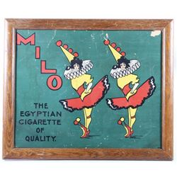 Milo Cigarette Circus Ballerina Advertising Sign